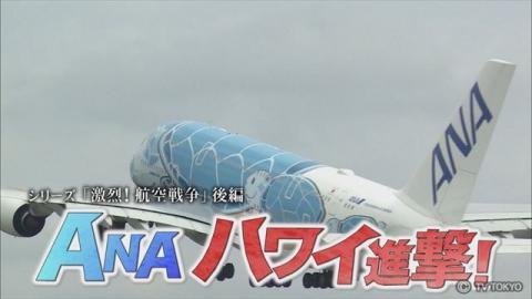 ガイアの夜明け 〜シリーズ「激烈!航空戦争」後編〜 ANA ハワイ進撃