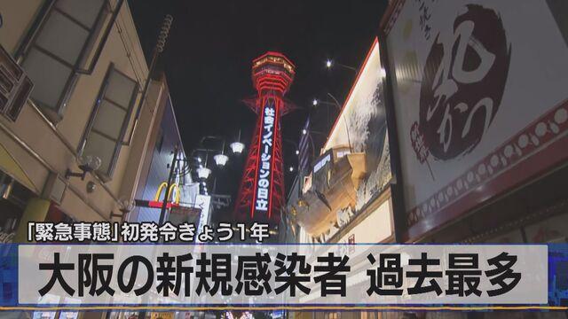 大阪 新規 感染 者