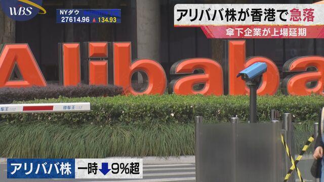 香港 アリババ 株価